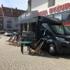 Food truck ponownie przed Galerią Batory
