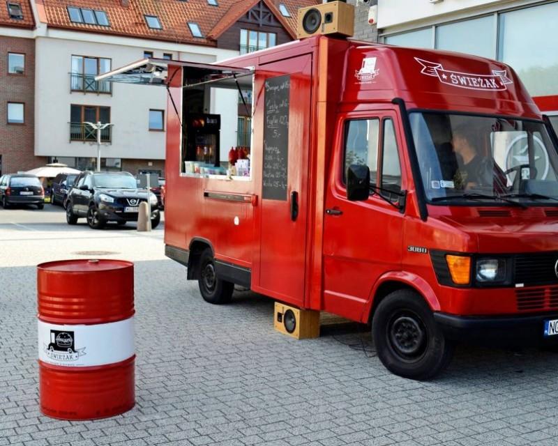 Food truck zaparkował pod Galerią Batory